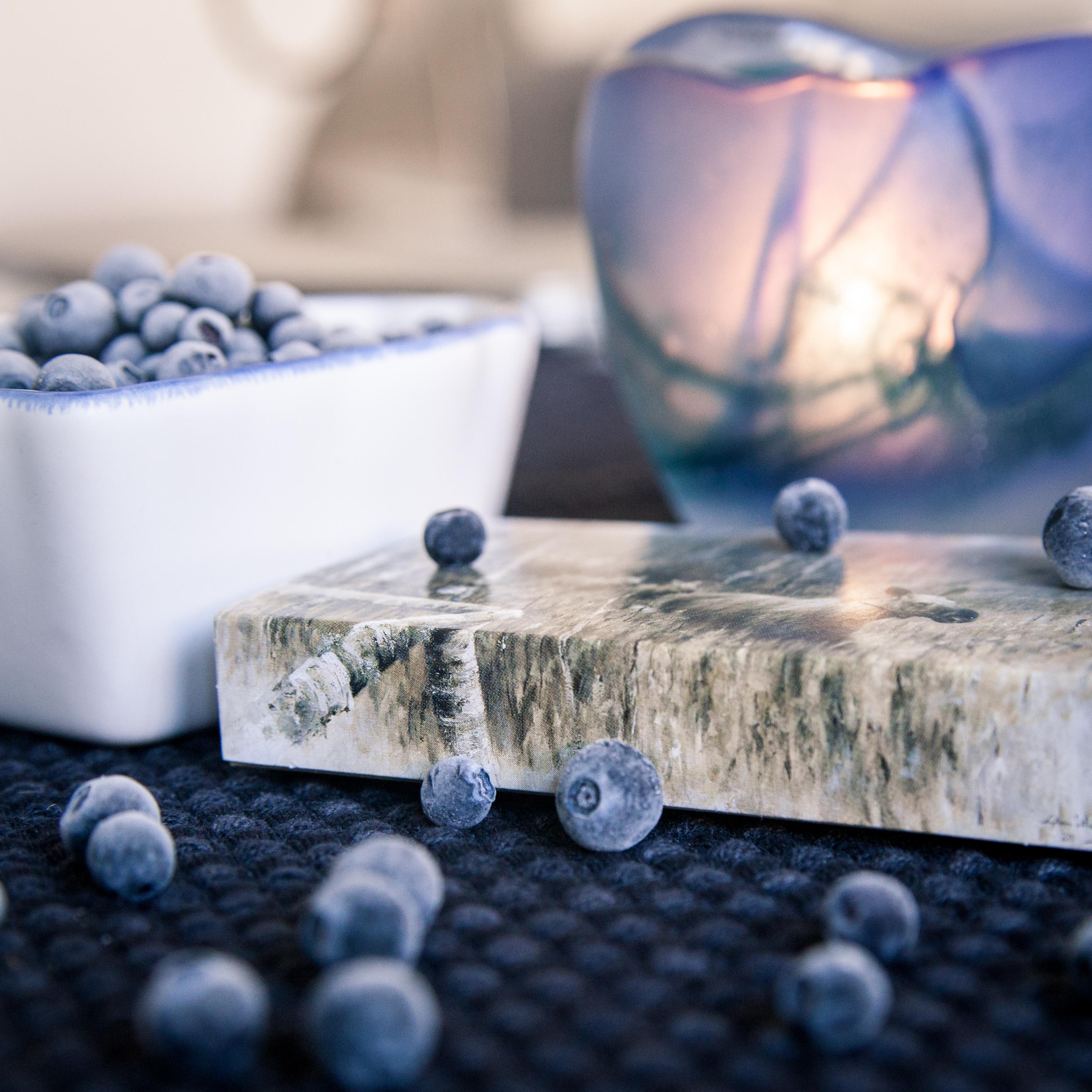 blueberry löwings tändstiksask